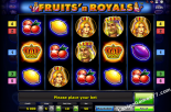 igralni avtomati Fruits and Royals Gaminator